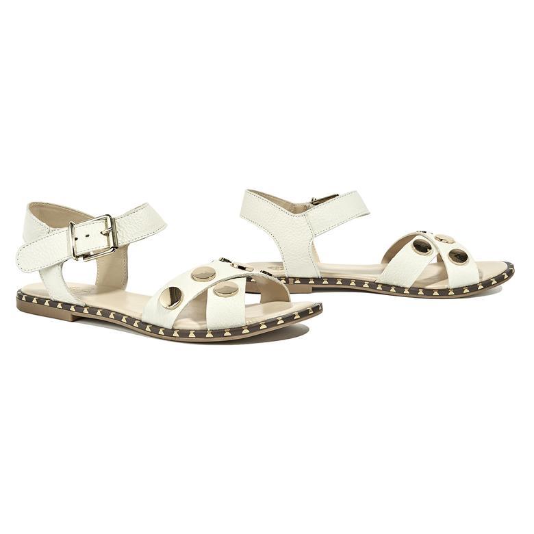 Bedros Kadın Deri Sandalet 2010044747011