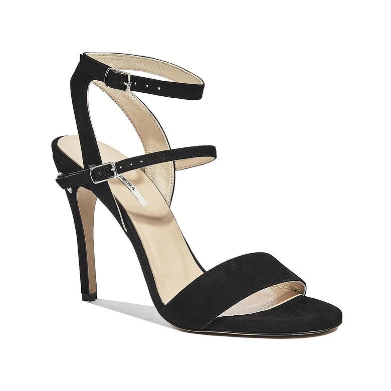 Dalia Kadın Nubuk Topuklu Sandalet 2010044305005