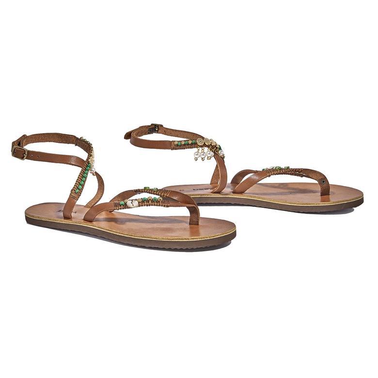 Ester Kadın Deri Sandalet 2010044587003