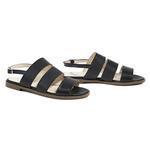 Siyah Bretta Kadın Deri Sandalet 2010044630006