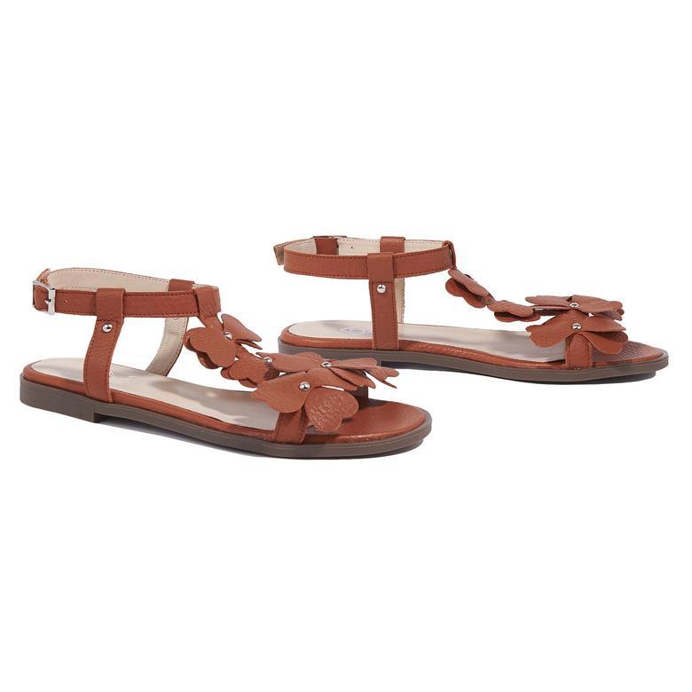 Belle Kadın Deri Sandalet 2010044629013