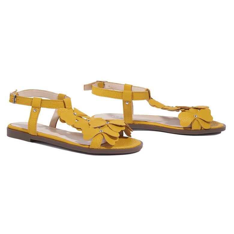 Belle Kadın Deri Sandalet 2010044629017