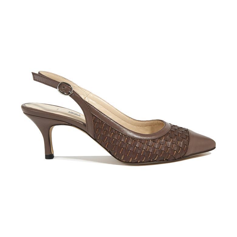 Erica Kadın Klasik Örgülü Deri Ayakkabı 2010044651001
