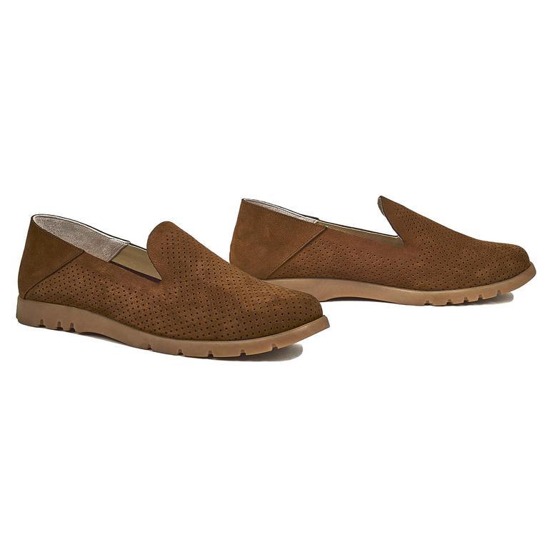 Magnolia Kadın Nubuk Günlük Ayakkabı 2010044235011