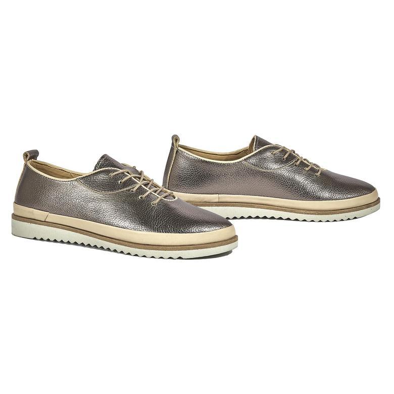 Inera Kadın Günlük Deri Ayakkabı 2010044281006