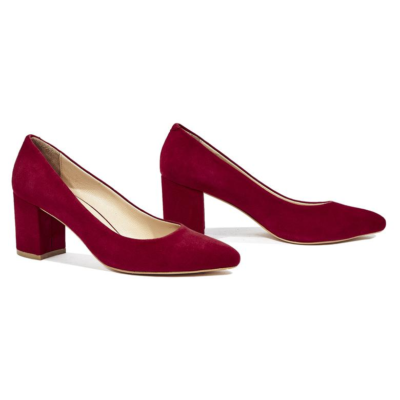 Eliot Kadın Süet Deri Klasik Ayakkabı 2010044343006