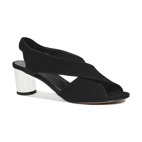 Maria Kadın Topuklu Süet Sandalet 2010044349003