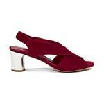 Maria Kadın Topuklu Süet Sandalet 2010044349006