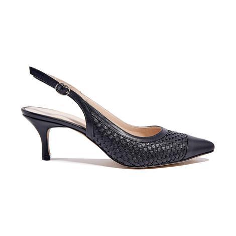 Erica Kadın Klasik Örgülü Deri Ayakkabı 2010044651009