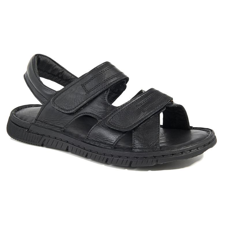 Ivonne Erkek Deri Sandalet 2010045057002