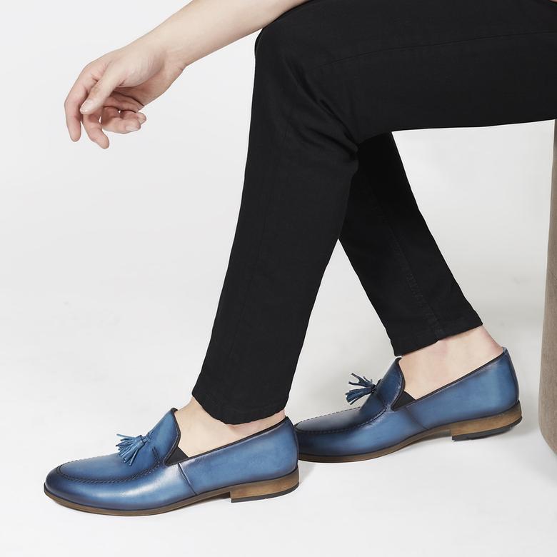 Renzo Erkek Deri Günlük Ayakkabı 2010044251011