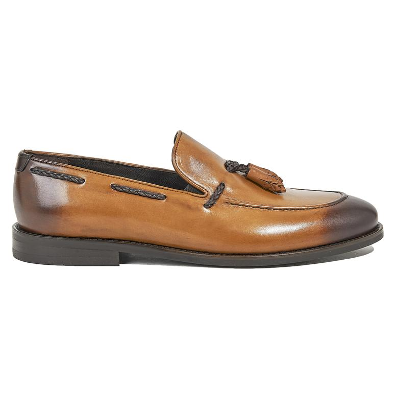 Andrew Erkek Deri Klasik Ayakkabı 2010044449007