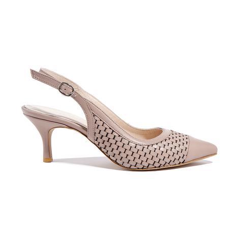 Erica Kadın Klasik Örgülü Deri Ayakkabı 2010044651012