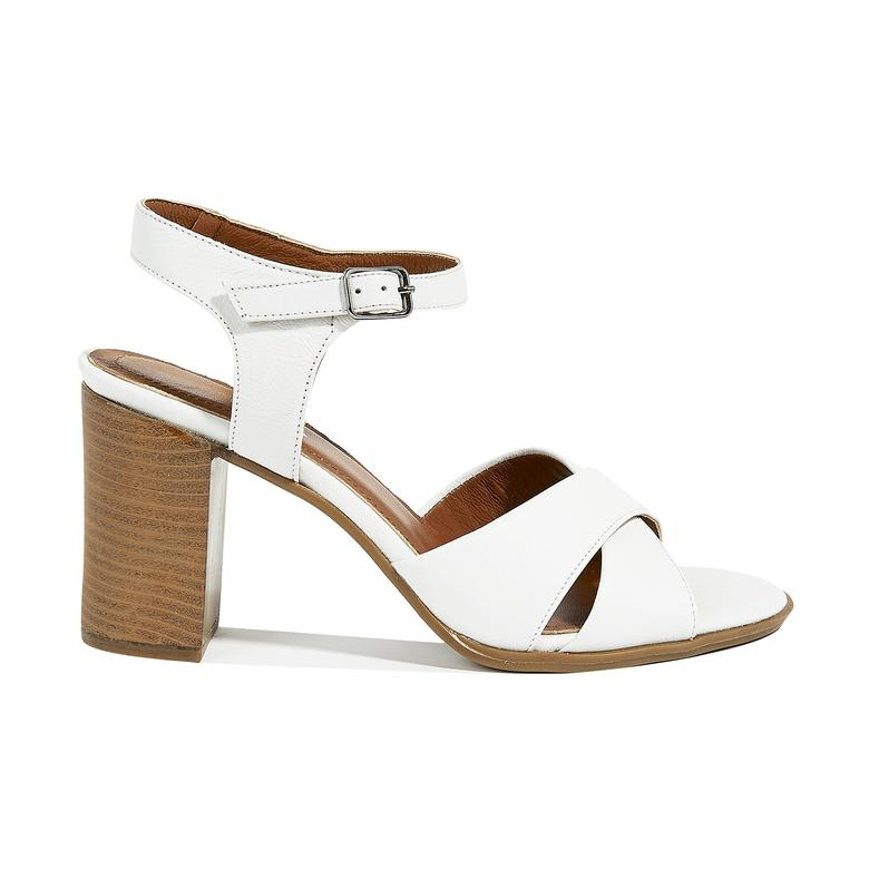 Demetra Kadın Deri Topuklu Sandalet 2010044770001