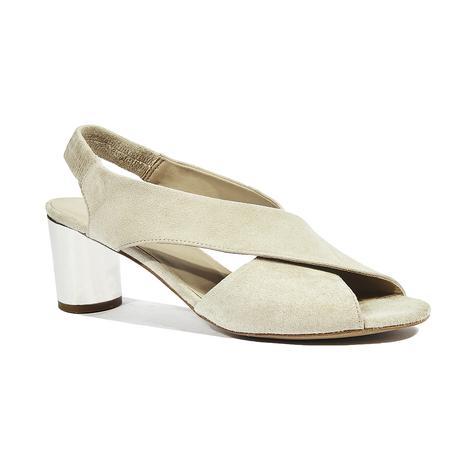 Maria Kadın Topuklu Süet Sandalet 2010044349012