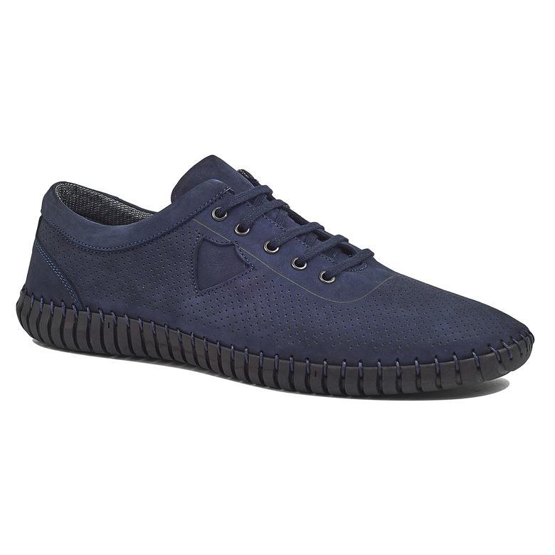Lucca Erkek Nubuk Deri Günlük Ayakkabı 2010044222001