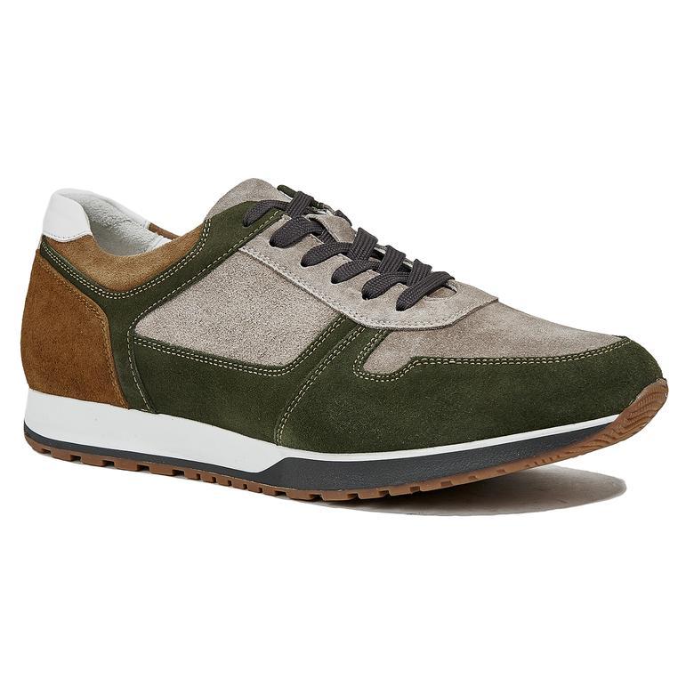 Marcio Erkek Süet Sneaker 2010044362009
