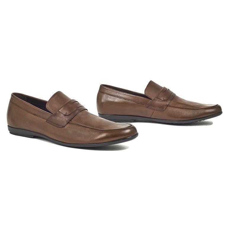 Lenard Erkek Deri Günlük Ayakkabı 2010044401002