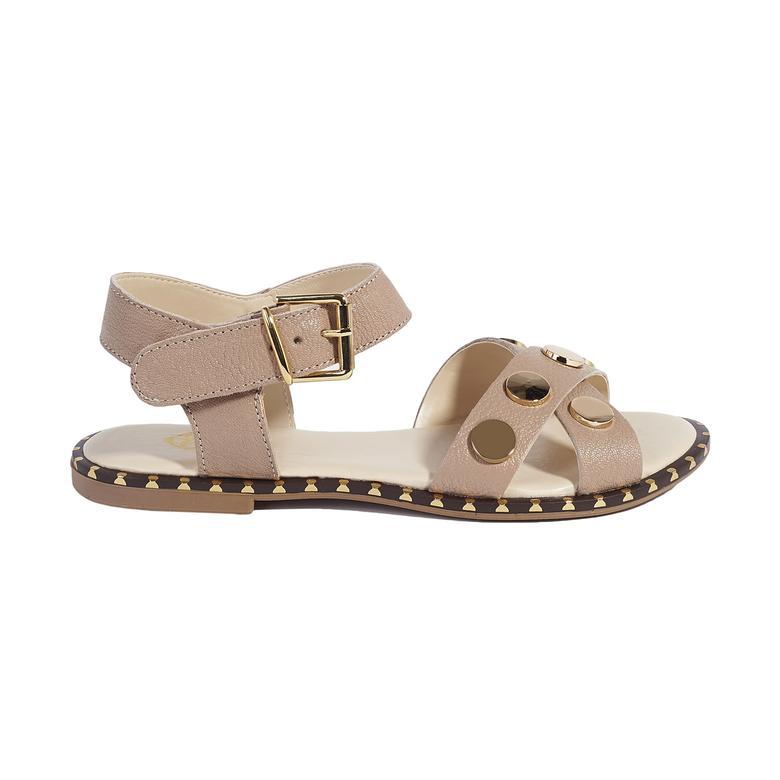 Bedros Kadın Deri Sandalet 2010044747016