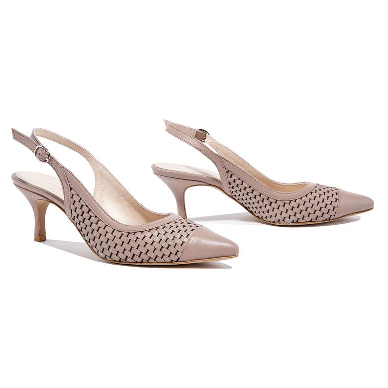 Erica Kadın Klasik Örgülü Deri Ayakkabı 2010044651017