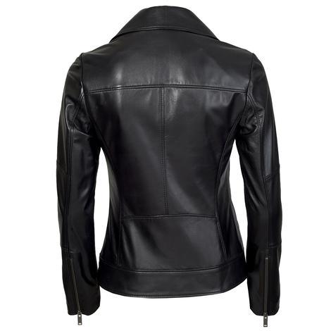 Tazia Kadın Deri Biker Ceket 1010028961001