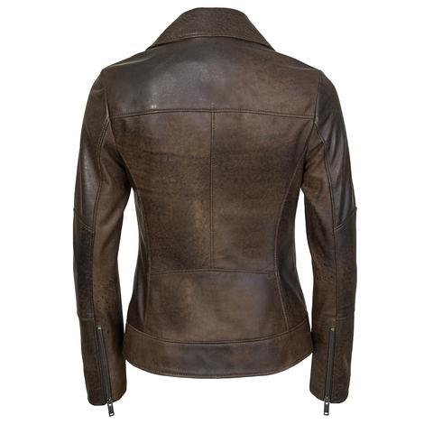 Tazia Kadın Deri Biker Ceket 1010028976003