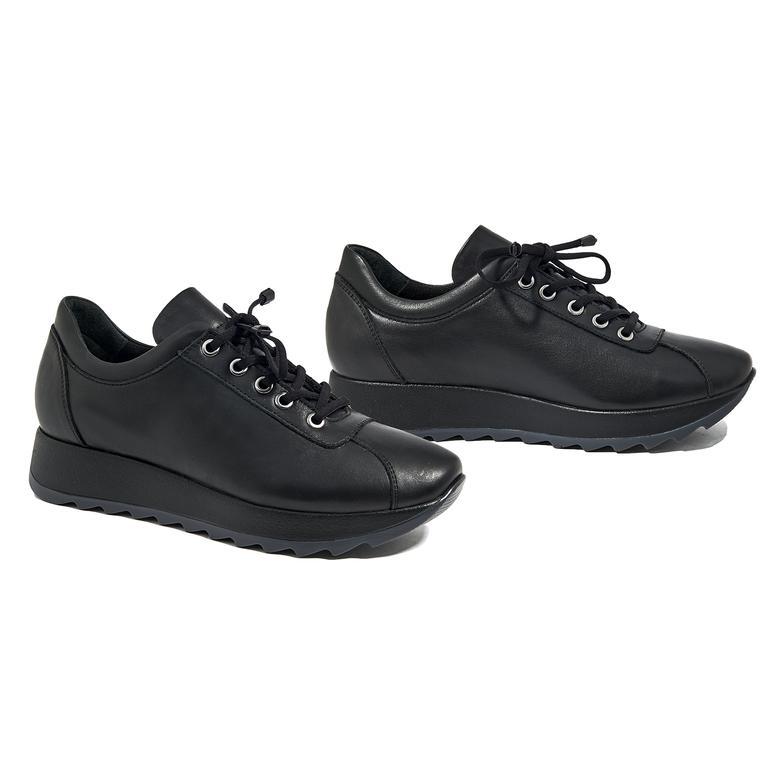 Ecpa Kadın Yüksek Taban Deri Günlük Ayakkabı 2010045278005