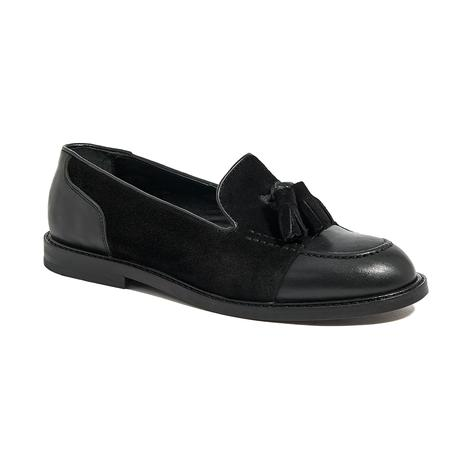 Kadın Günlük Süet Deri Ayakkabı 2010045270002