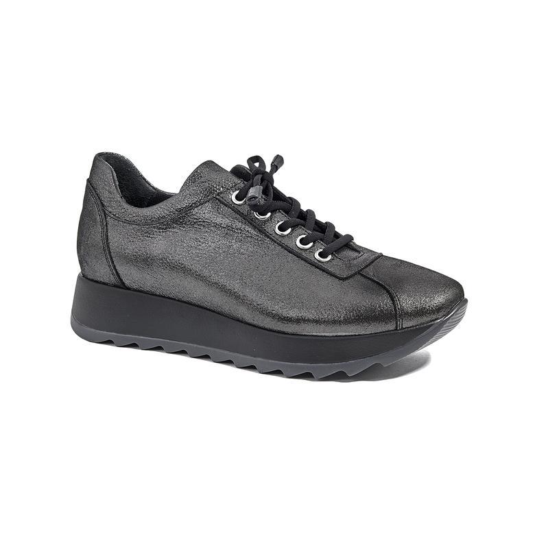 Ecpa Kadın Yüksek Taban Deri Günlük Ayakkabı 2010045278010