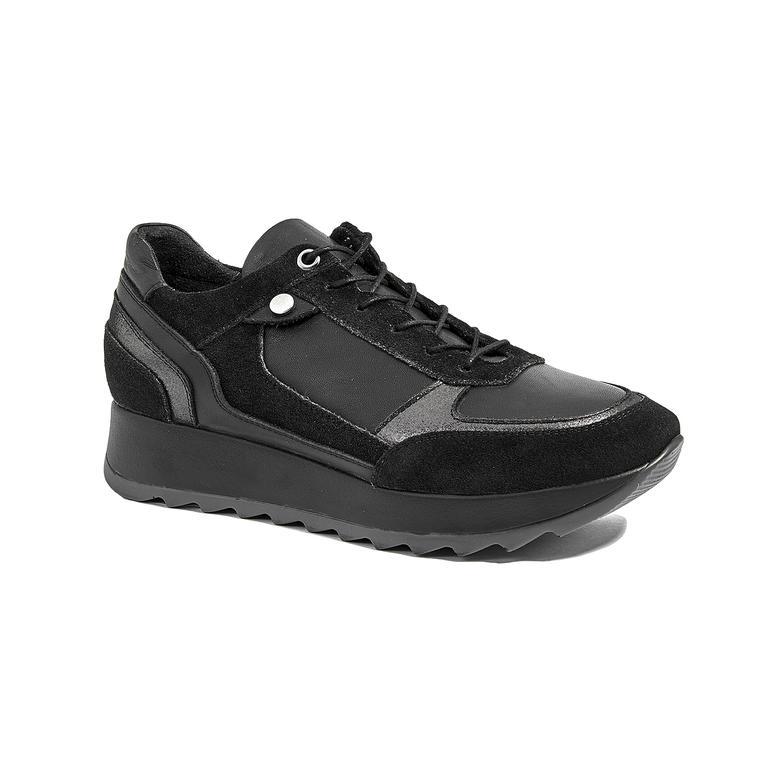 Lubos Kadın Yüksek Taban Deri Spor Ayakkabı 2010045279003