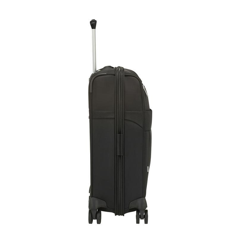 Samsonite Duopack - 4 Tekerlekli Körüklü İki Bölmeli Kabin Boy Valiz 55cm 2010045816002
