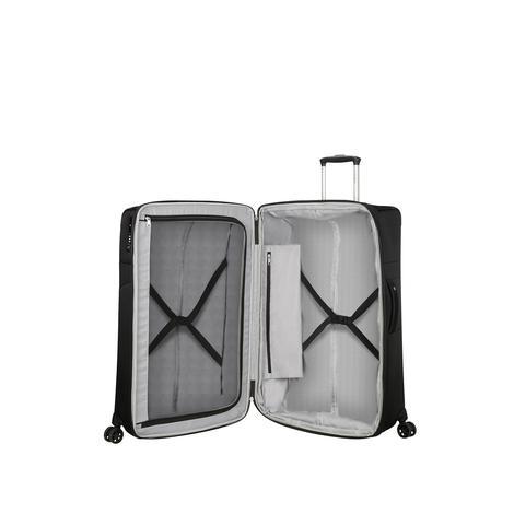 Samsonite DUOPACK - 4 Tekerlekli Körüklü İki Bölmeli Kabin Boy Valiz 78cm 2010045818002