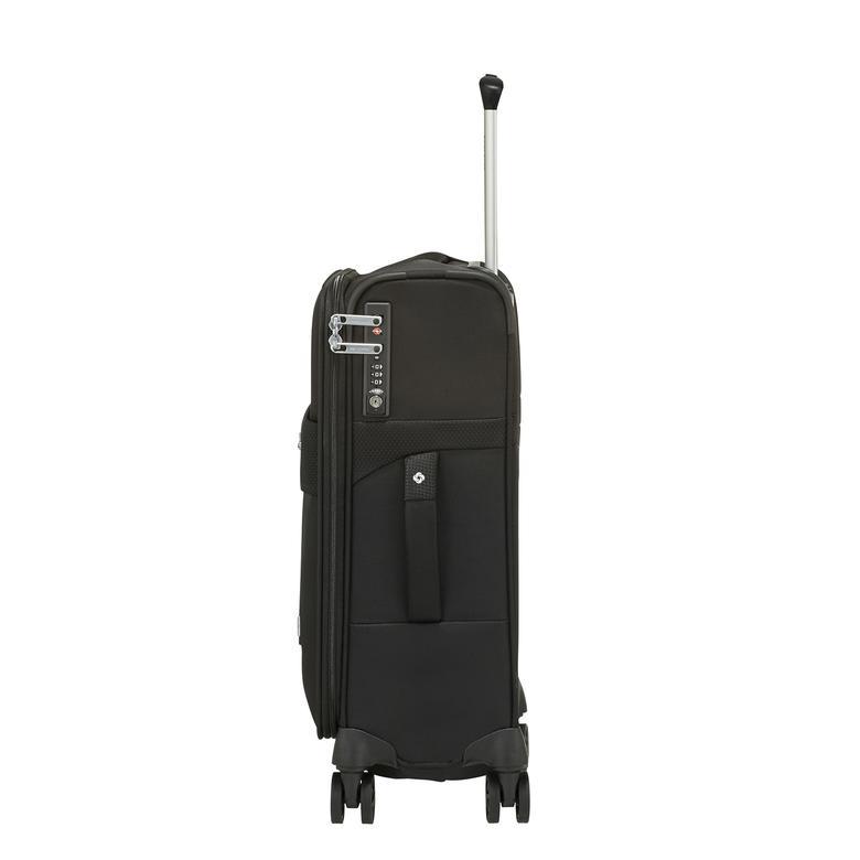 Samsonite Duopack - 4 Tekerlekli Körüklü Tek Bölmeli Kabin Boy Valiz 55cm 2010045821003