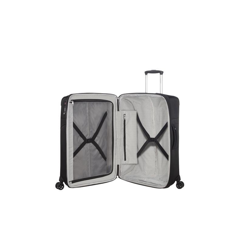 Samsonite Duopack - 4 Tekerlekli Körüklü İki Bölmeli Orta Boy Valiz 67cm 2010045817002