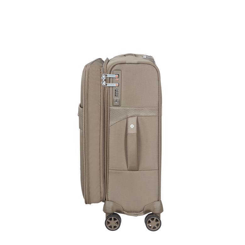 Samsonite Duopack - 4 Tekerlekli Körüklü Tek Bölmeli Kabin Boy Valiz 55cm 2010045821002