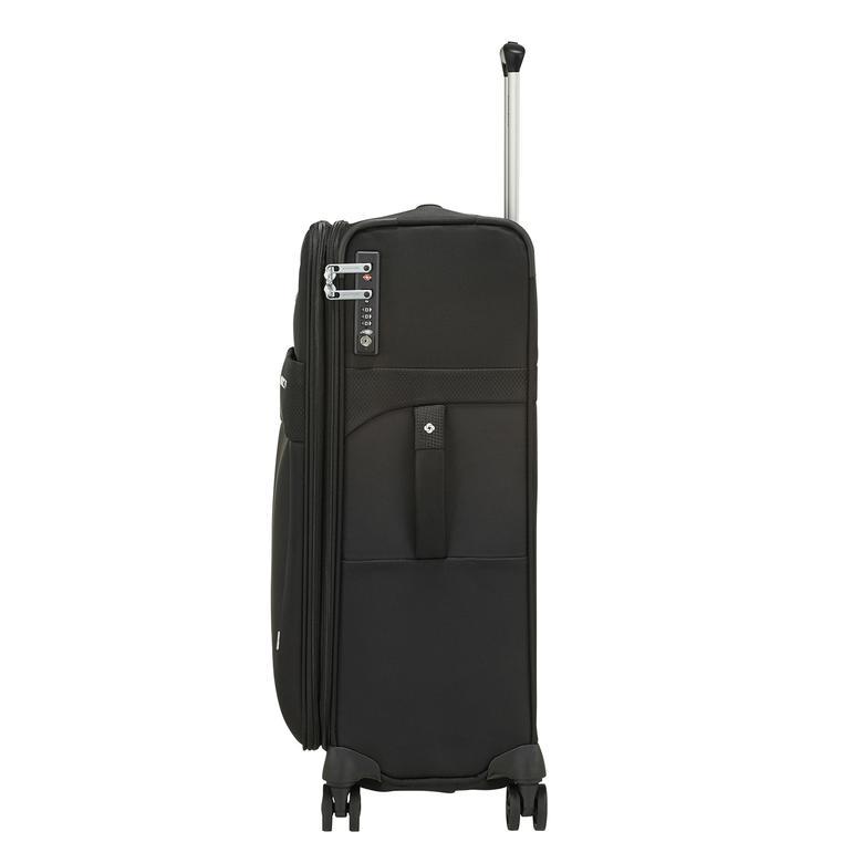Samsonite Duopack - 4 Tekerlekli Körüklü Tek Bölmeli Orta Boy Valiz 67cm 2010045822003