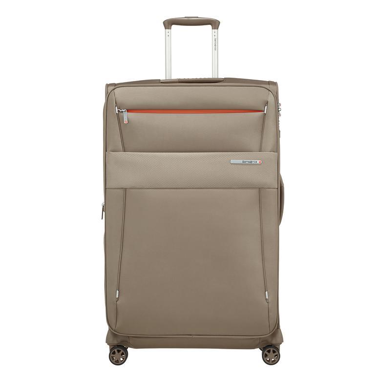 Samsonite Duopack - 4 Tekerlekli Körüklü Tek Bölmeli Büyük Boy Valiz 78cm 2010045823002