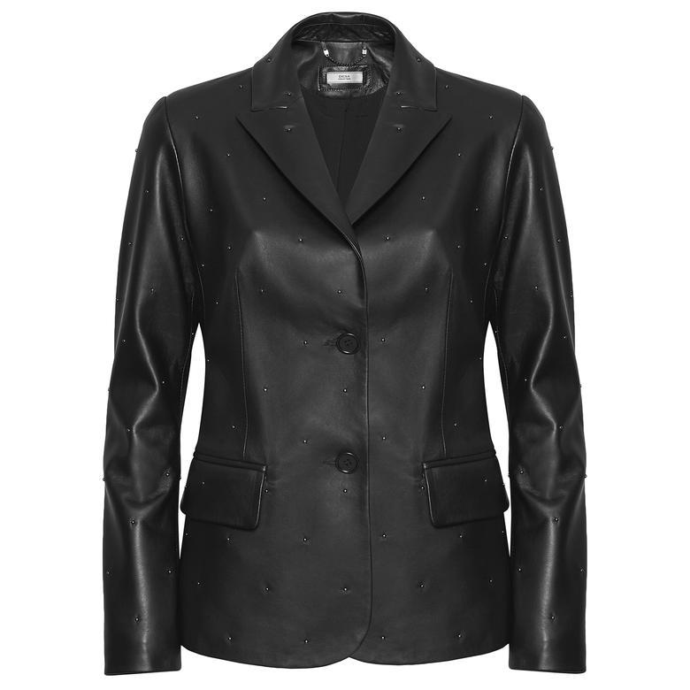 Anna Kadın Troklu Blazer Ceket 1010029949002