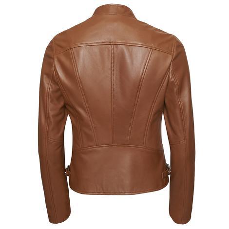Paride Kadın Deri Basic Ceket 1010029800011