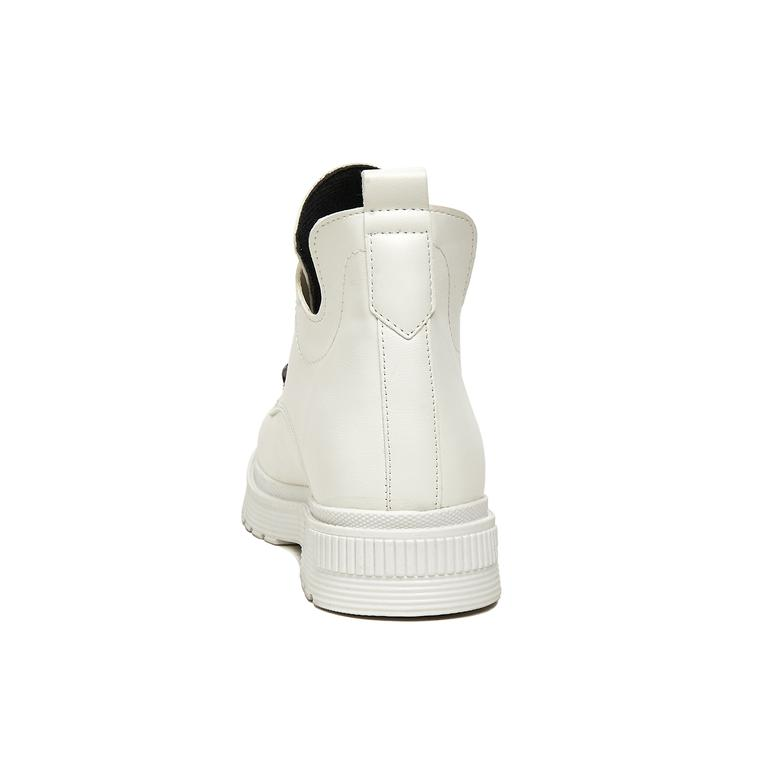 Manlio Kadın Beyaz Bot 2010045581007