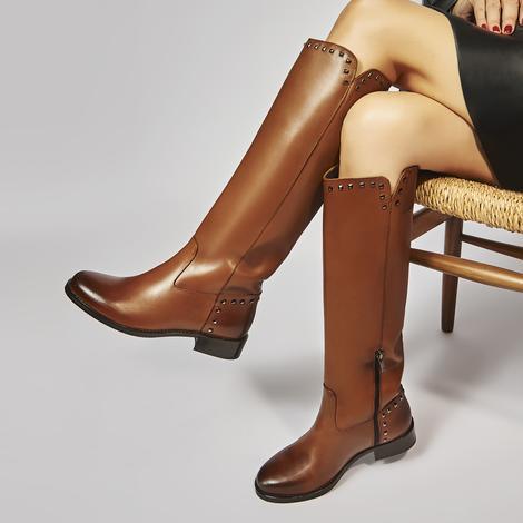 Otella Kadın Deri Çizme 2010045614006
