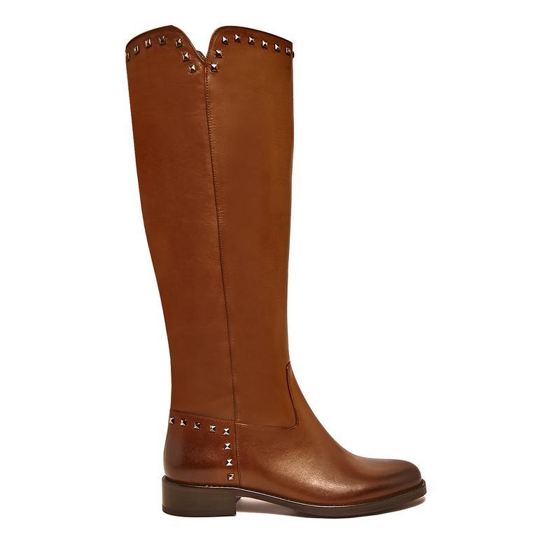 Otella Kadın Deri Çizme 2010045614007
