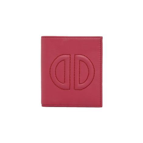 D Logolu Kadın Deri Cüzdan 1010026354007
