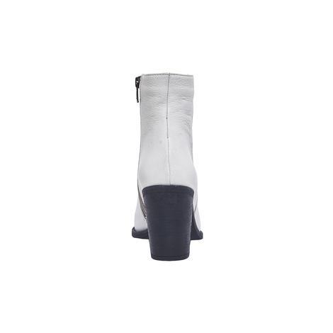Manno Kadın Deri Beyaz Bot 2010045636003