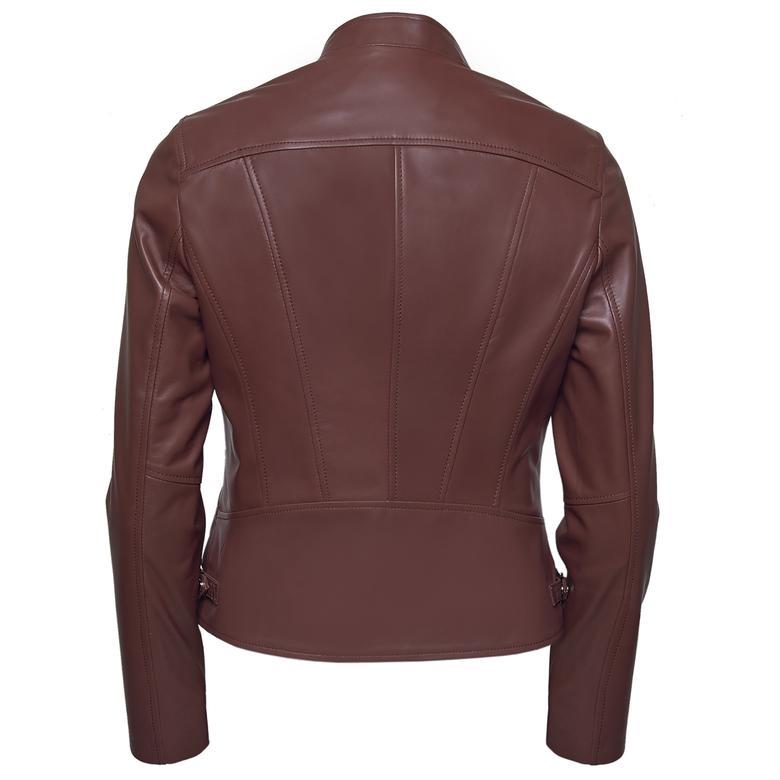 Paride Kadın Deri Basic Ceket 1010027776020