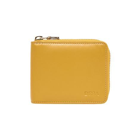 Sarı Fure Kadın Deri Cüzdan 1010030135004