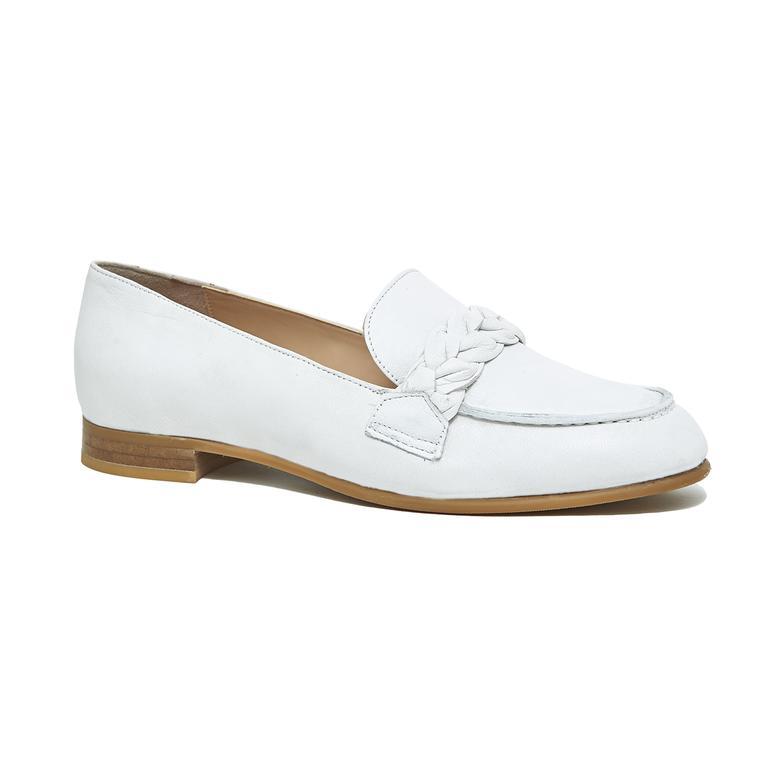 Sheeny Kadın Deri Loafer Günlük Ayakkabı 2010046082007