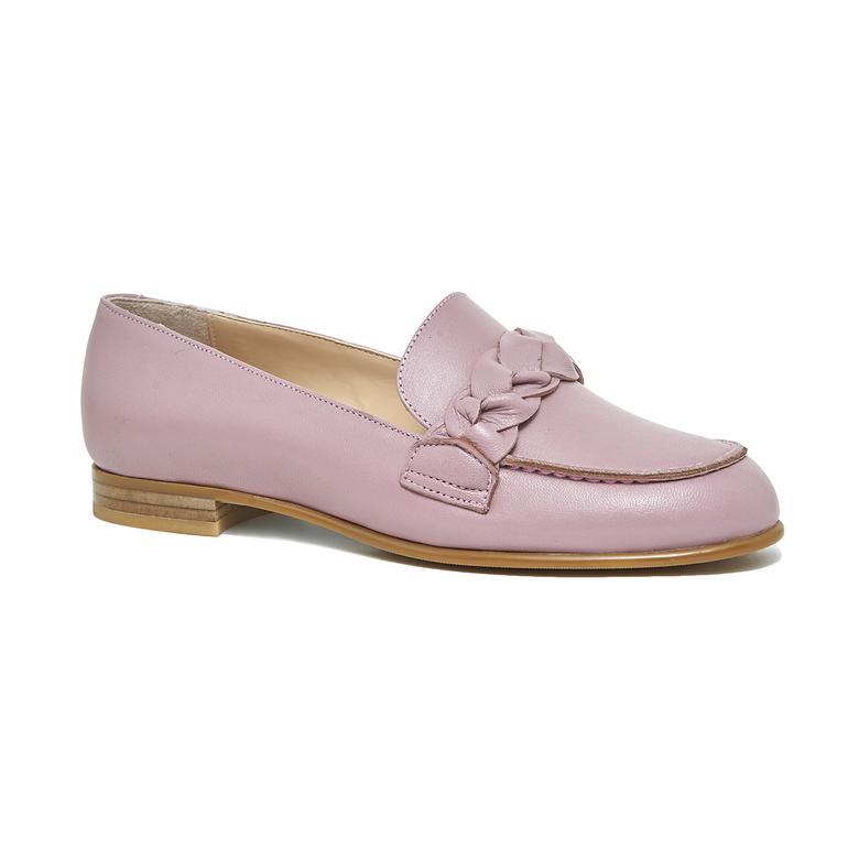 Sheeny Kadın Deri Loafer Günlük Ayakkabı 2010046082011