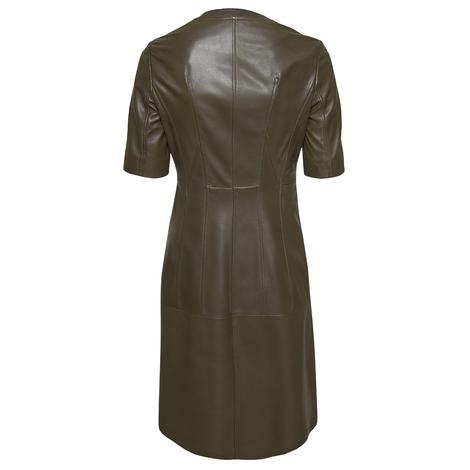 Serilda Kadın Deri Kısa Kollu Elbise 1010030027010