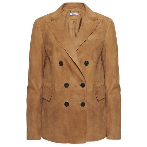 Chiara Kadın Süet Blazer Ceket 1010030529004